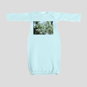 Speckled Sakura Baby Gown