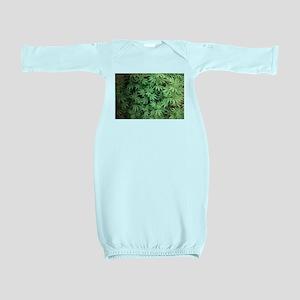 Marajuana Weed Pot Baby Gown