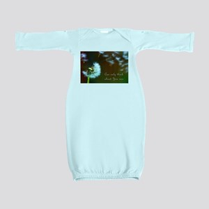 Dandelion 'Thinking About You' Baby Gown