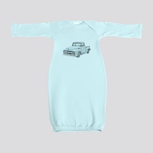 1956 Ford Truck in blue Baby Gown