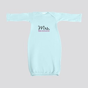 Customizable Name Mrs Baby Gown