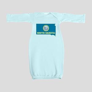 South Dakota Baby Gown
