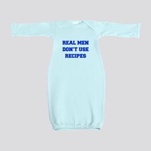 real-men-dont-use-recipes fresh blue Baby Gown