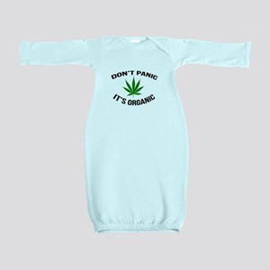 Don't Panic It's Organic Baby Gown