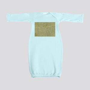 Old Manuscript Baby Gown