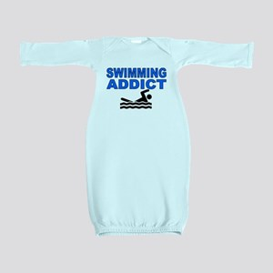 Swimming Addict Baby Gown