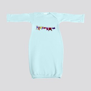 Kids clothes drying Baby Gown