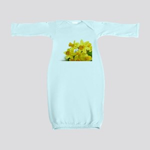 Daffodils Style Baby Gown