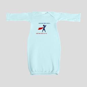 CASA Hero Justice Baby Gown