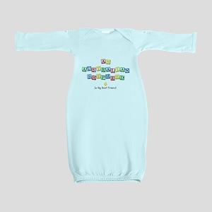 Blocks_AustralianShepherd Baby Gown