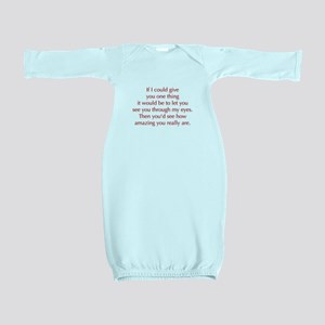 if-I-could-give-you-one-thing-opt-red Baby Gown