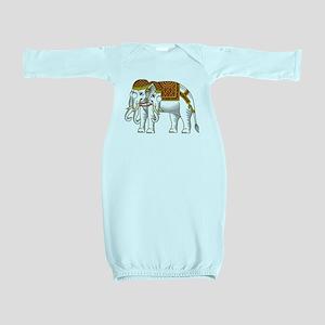Thai Erawan White Elephant Baby Gown