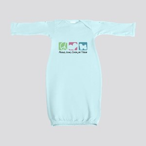 peacedogs Baby Gown