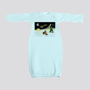 Night Flight/Airedale #5 Baby Gown