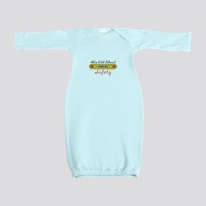 Its All About Safety Baby Gown