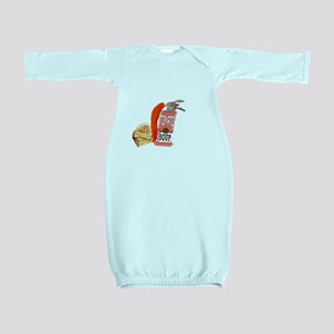 Grilled Cheese Tomato Soup Baby Gown