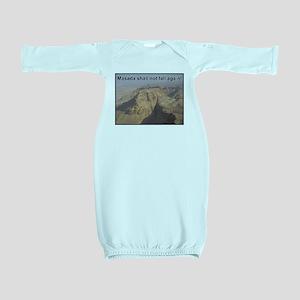 Masada Shall Not Fall Again Baby Gown