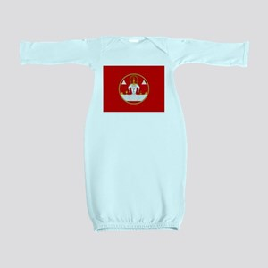Laotian Royal Coat of Arms Baby Gown