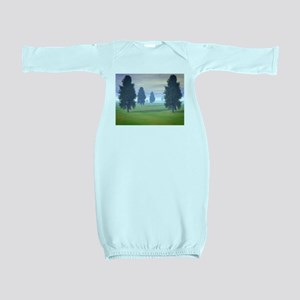 Fairway To Seven Baby Gown