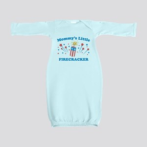 Mommys Little Firecracker Baby Gown