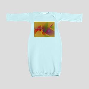 Digital Kandinsky Emulation Baby Gown