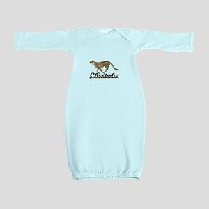CHEETAHS Baby Gown