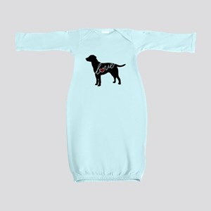 Labrador Love Baby Gown
