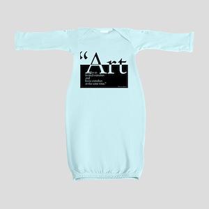 Art Baby Gown