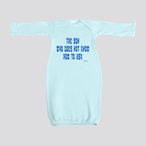 The Son Who Can't Ask Passover Baby Gown