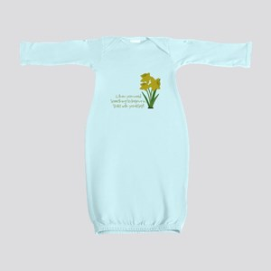 Something To Believe Baby Gown