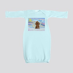 Angel/Poodle (Aprict Toy/Min) Baby Gown
