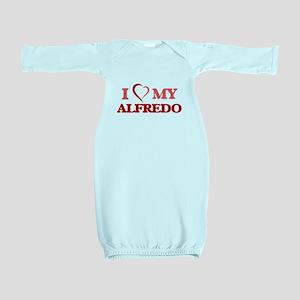 I love my Alfredo Baby Gown