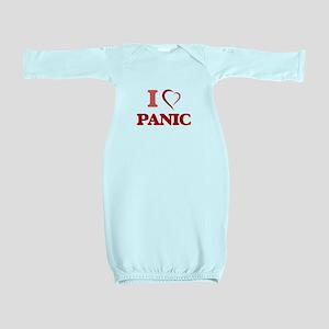 I Love Panic Baby Gown