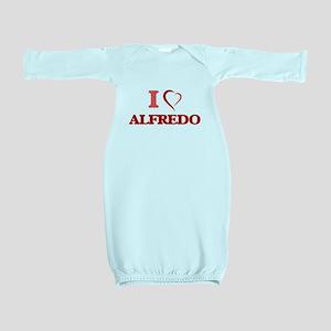 I Love Alfredo Baby Gown