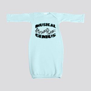 Musical Genius Baby Gown