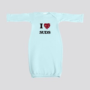 I love Suds Baby Gown