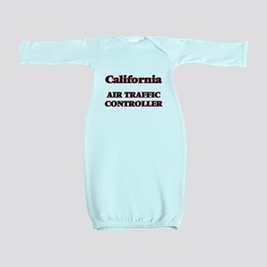 California Air Traffic Controller Baby Gown