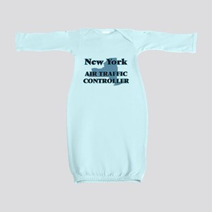 New York Air Traffic Controller Baby Gown