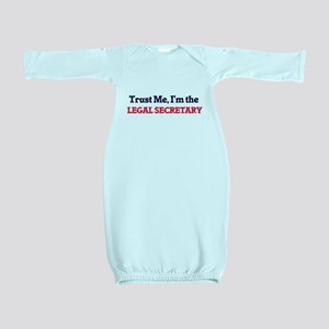 Trust me, I'm the Legal Secretary Baby Gown