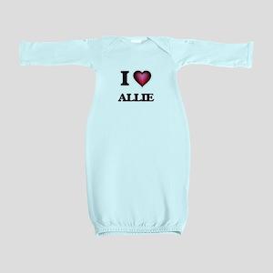 I Love Allie Baby Gown