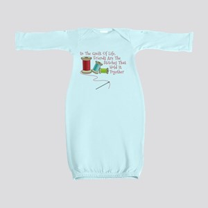 Quilt of Life Baby Gown