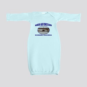 March Air Force Base Baby Gown