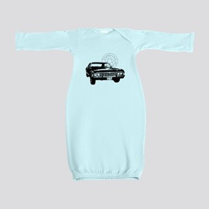 Impala with devils trap Baby Gown