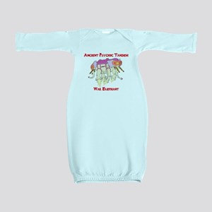 Ancient Psychic Tandem War Elephant Baby Gown