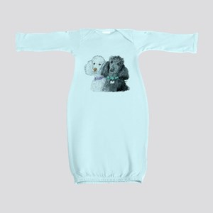 Two Poodles Baby Gown