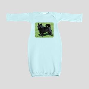 Schipperke AF071D-355 Baby Gown
