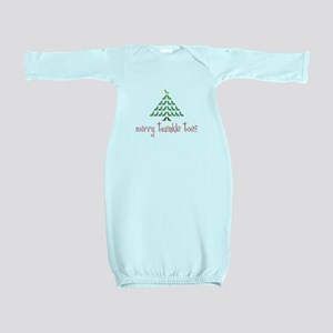 Merry Twinkle Toes Baby Gown