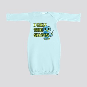 I Call The Shots Baby Gown