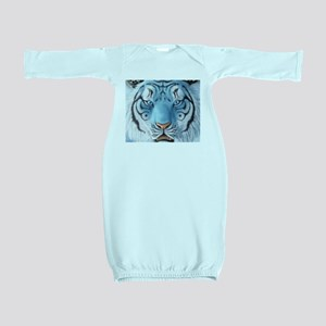 Fantasy White Tiger Baby Gown