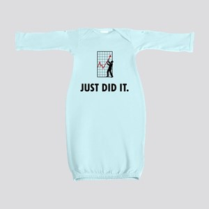 Financial Trader Baby Gown
